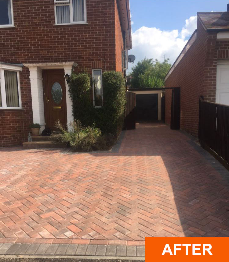 After block paving companies near me Sonning