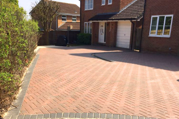 Block paving company near me Arborfield